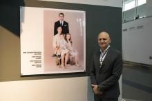 Nytt porträtt på Kronprinsessfamiljen presenteras först på Arlanda