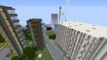Minecraftspelarna har skapat ett helt nytt Kristianstad