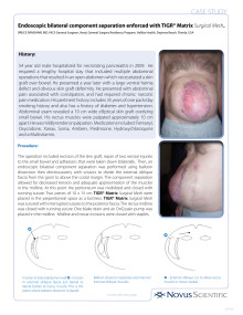 Case Study - From Dr Bruce Ramshaw, MD, FACS