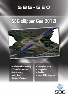 Geo 2012 – Det kompletta programmet för geodesi och lantmäteri