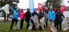Findus ryddet Hvalstrand Bad