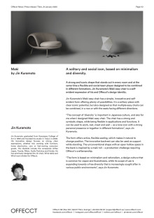 Offecct Press release Maki by Jin Kuramoto_EN