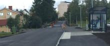 Invigning  Strömnäsgatan i Piteå