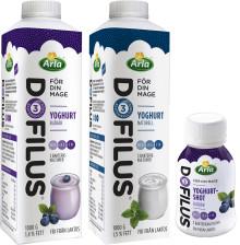 Arla lanserar Dofilus – en klassisk yoghurt för magen