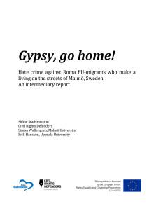 Rapport: Gypsy, Go Home! English version