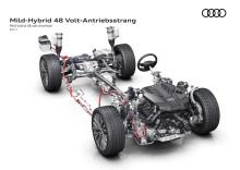 Världspremiär för nya Audi A8 på Audi Summit