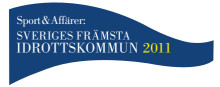 Stockholm - Sveriges främsta idrottskommun 2011 (Logotype)