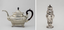 Rare Objects in Argent Haché acquired by Nationalmuseum
