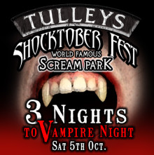 Just Three Nights until Tulleys Halloween Festival begins!