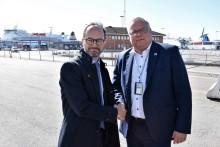 Mobil alkobom ska bli verklighet i Skandinaviens största RoRo-hamn