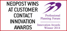 Neopost Wins At Customer Contact Awards