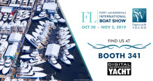 Digital Yacht at Fort Lauderdale Boat Show - AIS, Sensors, Internet Afloat, Wireless Networking and more....