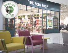 The Body Shop er igjen kåret til det mest bærekraftige kosmetikkmerket i Norge
