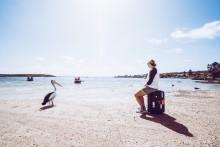 Quer durch das Outback: Der #alphaddicted Koffer reist durch Australien
