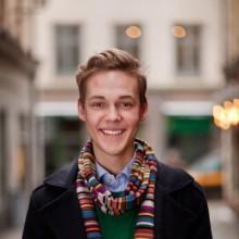 Hugo Laigar från Moderata Ungdomsförbundet bor hos föräldrarna under Almedalen