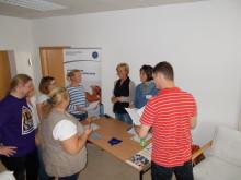 VOD informiert Osteopathie-Schüler in Bad Dürkheim