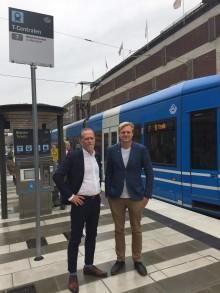 MP i landstinget och Stockholms stad: Sök stadsmiljöavtal för Spårväg city till Norra Djurgårdstaden