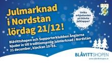 IFK Göteborg  bjuder till traditionsenlig julmarknad i Nordstan 21 december