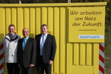 Presseinformation: Mehr als 26 Millionen Euro für Netzbaumaßnahmen im Netzcentergebiet - Bayernwerk-Netzcenter Marktheidenfeld stellt aktuelle Baumaßnahmen vor