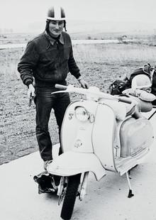 Tänk att så mycket kan rymmas på en scooter