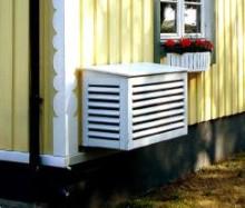 InVest Värmepumpsskydd - ett snyggt yttre som skyddar din inre värme.