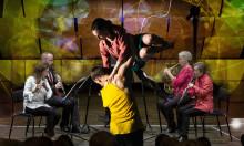 Norrdans och Nordiska Blåsarkvintetten inviger Kammarmusikfestivalen i GA-Kyrkan