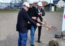 Första spadtaget för nytt äldreboende i Storfors