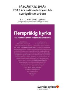 Program Nationellt forum
