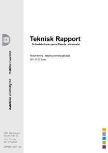 Teknisk rapport till Skräpfacit 2013