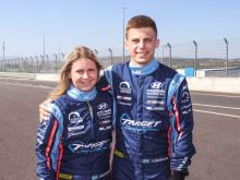 Hyundai juniorsatsar på racingsyskonen Bäckman