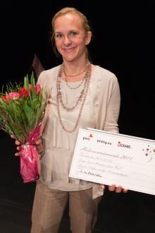 Amelie Silfverstolpe uppmärksammad samhällsentreprenör i affärstävlingen Beautiful Business Award 2011