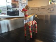 Efterlängtat bagage på Kalmar Öland Airport flyger vidare viralt