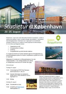 Studietur til København - for driftsansvarlige for et eller flere bygg