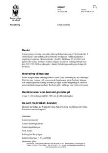 Beslut om totalt eldningsförbud i Värmlands län