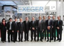 Taiwanese Delegation visits EXEGER