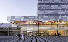 Tyst miljö i nya flygplatshotellet med vibrationsdämpning från Christian Berner