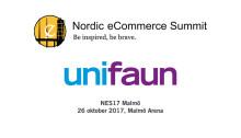 Unifaun på Nordic eCommerce Summit i Malmö 26 oktober