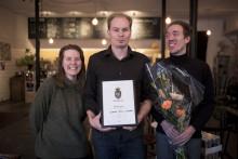 Fermenterad soda i säsongens smak vann Matverk Sörmland och går till riksfinal