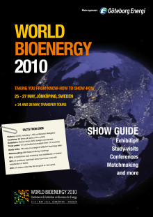 World Bioenergy 2010 Final Show Guide