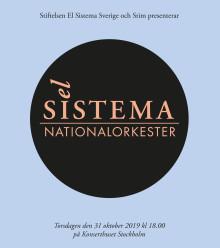 Inbjudan till El Sistema Nationalorkester på Konserthuset Stockholm 31 oktober