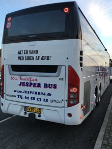 SÅ RULLER SYDFYNSEXPRESSEN - NY DIREKTE BUS KØBENHAVN-SVENDBORG-ÆRØ