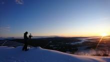 Den alpina världseliten tränar i Funäsdalen