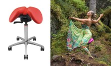 Finnish Salli friends can win a Salli Light Swing saddle chair!