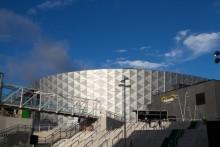 """Friends Arena - Strängbetong har byggt stommen och läktarna  """"Nu får någon annan göra målen""""!"""