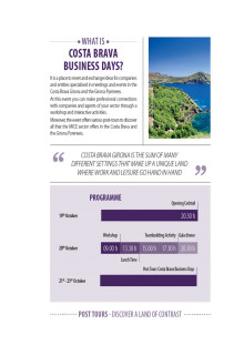 Studieresa till Costa Brava - Business days