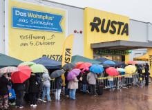 Rusta fortsätter sin expansion i Tyskland