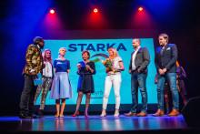 Starka vinner Guldäpplet 2018