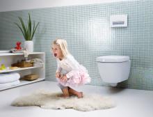 Geberit stärker sin satsning på framtidens badrum och lanserar toalettsystem med frisk luft