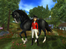 Hästspelet Star Stable med över en miljon hästintresserade spelare, lanserar ny kändisryttare, Reed Kessler