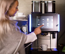 Kaffemaskin på jobbet – test